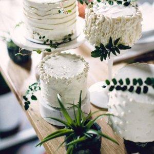 Украшение цветами торта
